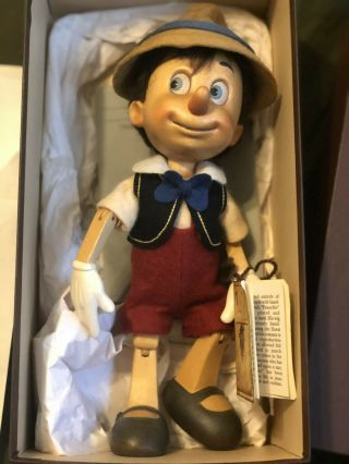 Authentic R.  John Wright Wooden Pinocchio Doll