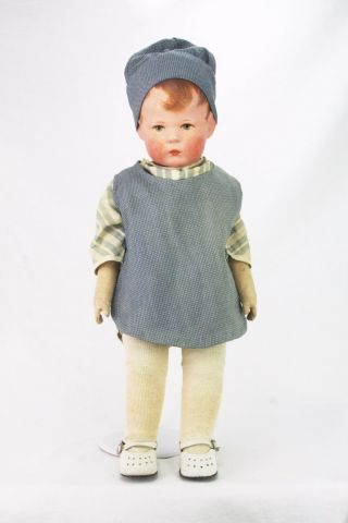 Antique Kathe Kruse Doll One Ca1910