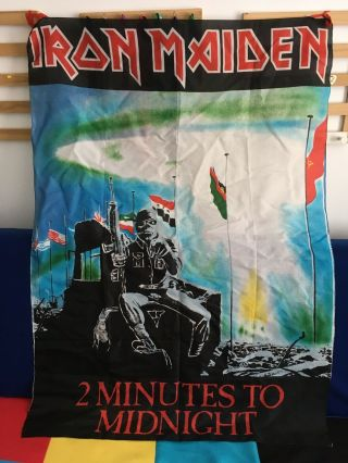 Iron Maiden Textile Flags X3 Poster Flags