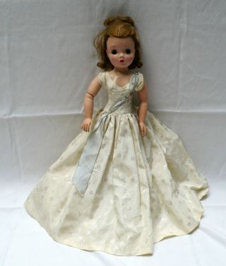 "Vintage Madame Alexander Cissy Doll Queen 1957? 20 "" Old"