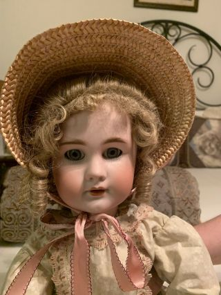 Pretty Antique,  French Doll - Marked.  Dep 11