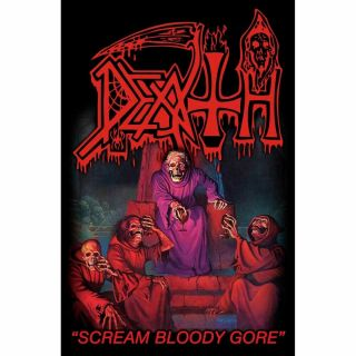 Death Scream Bloody Gore Textile Poster Official Premium Fabric Flag