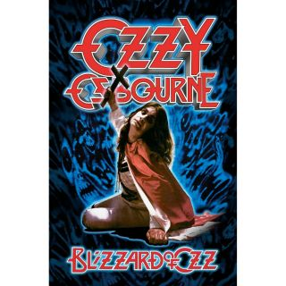Ozzy Osbourne Blizzard 2020 Textile Poster Official Merch Premium Fabric Flag
