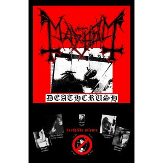 Mayhem Premium Textile Poster Fabric Flag Deathcrush