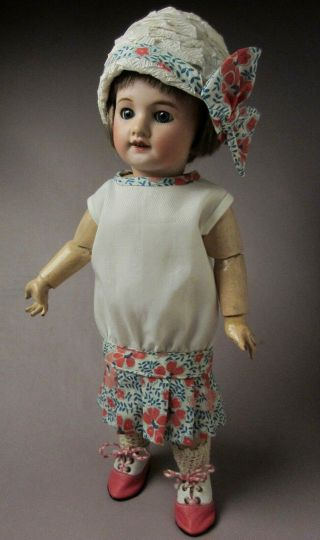 Bleuette Summer Dress And Cloche By Bluebird Textiles