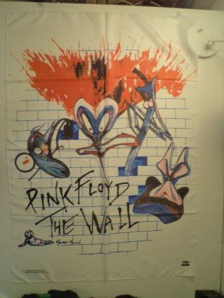 Pink Floyd Textile Poster Flag The Wall