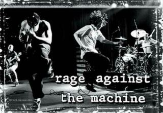 Rage Against The Machine Textile Poster Fabric Flag Onstage