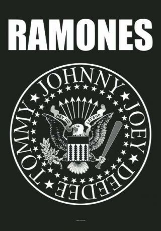 Ramones Textile Poster Fabric Flag Seal