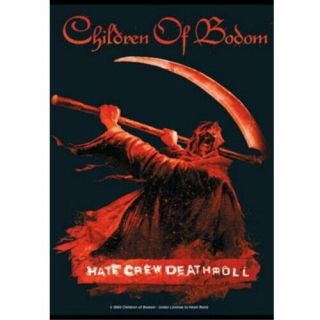 Children Of Bodom Textile Poster Fabric Flag Hate Crew
