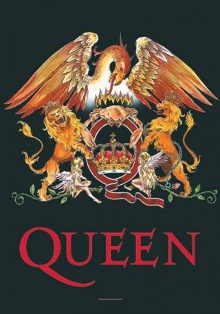 Queen Textile Poster Fabric Flag