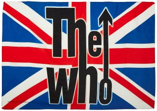 The Who Textile Poster Fabric Flag