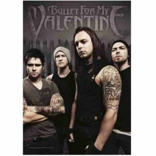 Bullet For My Valentine Textile Poster Fabric Flag