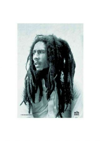 Bob Marley Dreads Textile Poster Fabric Flag