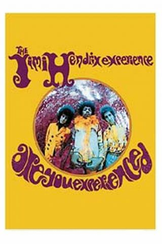 Jimi Hendrix Textile Poster Fabric Flag Are You Experienced
