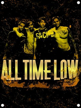 All Time Low Textile Poster Fabric Flag