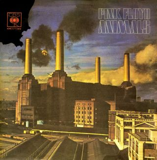 "Pink Floyd.  "" Animals "".  Iconic Retro Album Cover Poster Various Sizes"