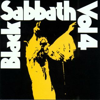 "Black Sabbath "" Vol 4 "".  Iconic Album Retro Poster Various Sizes"