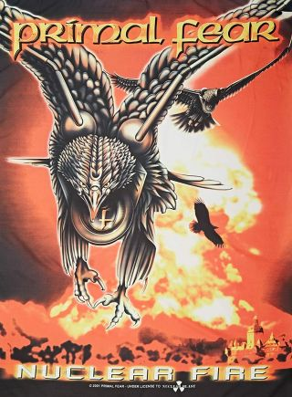 Primal Fear Textile Poster Fabric Flag Nuclear Fire
