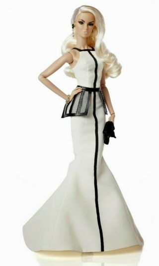 Fashion Royalty - Edge Vanessa Perrin - Partial Outfit - Dress,  Belt & Shoes [no Doll]