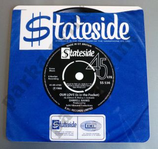 Northern Soul Placemat,  Vinyl Record Placemat,  Stateside Placemat,  Mod Placemat