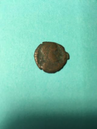 First Christian Empire Roman Bronze Coin Ancient Antique From 306 - 410 Ad