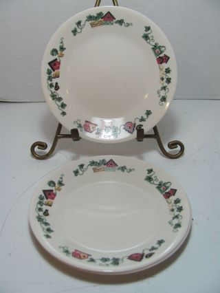 Corelle By Corning Garden Home Set Of 3 Bread & Butter Plates