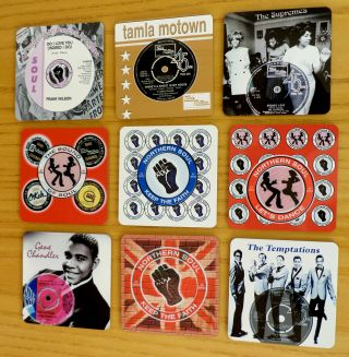 Northern Soul Fridge Magnets,  Ktf Fridge Magnets,  Scooter Motown Fridge Magnets