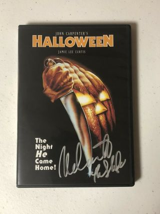 Halloween Michael Myers Nick Castle Signed Autographed Dvd Cover W/ Exact Proof