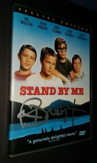 Stand By Me Dvd Autographed By Richard Dreyfuss