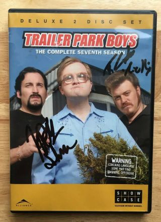 Trailer Park Boys Signed The Complete Season 7 Dvd Ricky & Julian Autographed