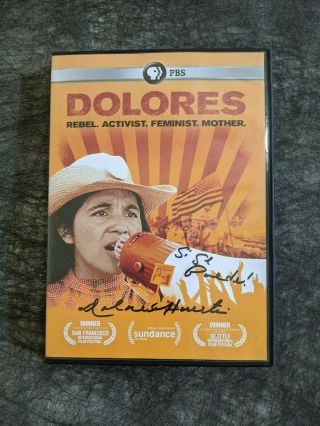 "Autographed "" Dolores "" Movie Dvd"