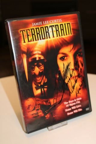 Terror Train Dvd Autographed By Derrick Mckinnon