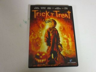 Trick R Treat Sam Quinn Lord Autographed Signed Dvd Exact Signing Picture Proof