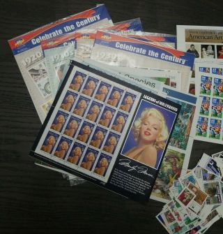 Huge Lot Us Postage Stamps Well Over $700 Face Value