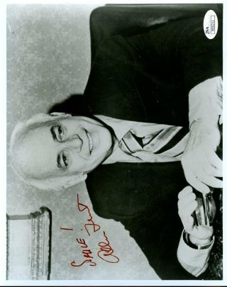 Alan Funt Candid Camera Jsa Authenticated Signed 8x10 Photo Autograph