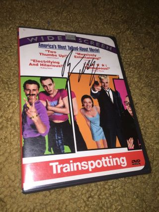 Ewan Mcgregor Signed Autographed Trainspotting Dvd Obi Wan Kenobi Star Wars