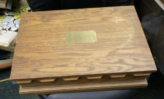 Vintage Pacific Silvercloth Lined Flatware Chest Box