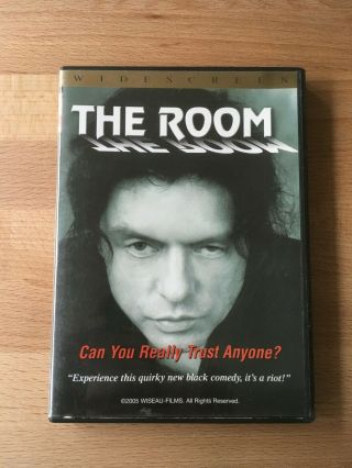 The Room Dvd - Autographed By Tommy Wiseau