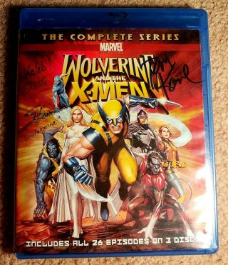 Signed Wolverine And The X - Men: Complete Series Blu - Ray - Steve Blum - Tom Kane