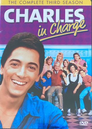 Charles In Charge Dvd Autographed By Josie Davis - 3rd Season & Collector Card