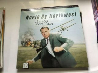 Eva Marie Saint North By Northwest Laser Disc Autographed