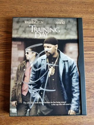 Ethan Hawke Signed Training Day Dvd - Authentic Autograph