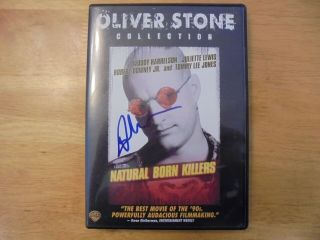 Natural Born Killers Signed Dvd Autographed Signed By Juliette Lewis Malore