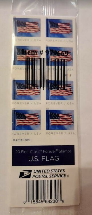 100 First - Class Forever Stamps From Usps,  Within Usa
