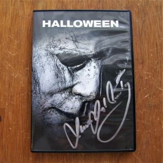 Halloween Signed Dvd 2018 Autographed By James Jude Courtney