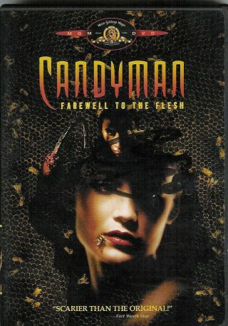Candyman Farewell To The Flesh Dvd Signed By Tony Todd