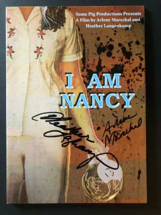 Nightmare On Elm Street I Am Nancy Dvd Signed By Heather Langenkamp,  Director
