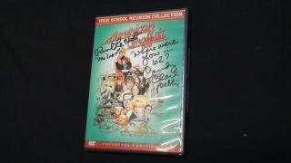 American Graffiti High School Reunion Dvd Signed By Candy Clark And Paul Le Mat