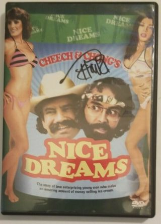 Tommy Chong Signed Cheech And Chong Dreams Dvd