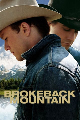 """ Brokeback Mountain "".  Heath Ledger.  Classic Movie Poster Various Sizes"